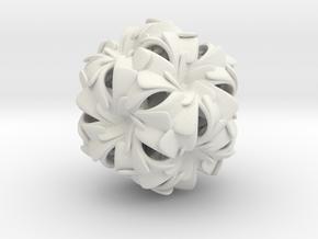 Synergy in White Natural Versatile Plastic: Medium