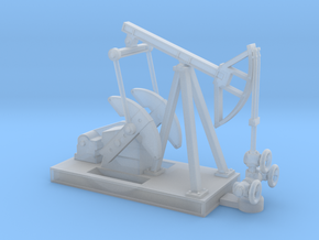 N Scale Oilfield Pumpjack in Smooth Fine Detail Plastic