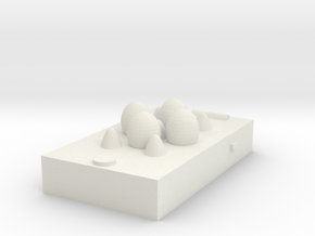egg box(smart phone) in White Natural Versatile Plastic