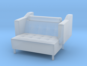 Sofa 2018  model 1 in Smooth Fine Detail Plastic