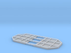 Rnoos Stirnwand Set Scale TT in Smooth Fine Detail Plastic