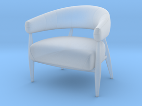 Chair 2018 model 1 in Smooth Fine Detail Plastic