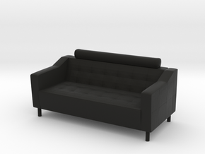 Sofa 2018 model 3 in Black Natural Versatile Plastic