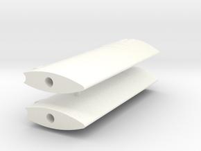Becker rudder in White Processed Versatile Plastic
