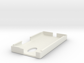 Droid Maxx 2 Case 3d model in White Natural Versatile Plastic