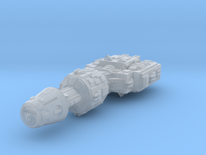 Correllian Gunship v2 (guns added) in Smooth Fine Detail Plastic