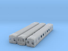 NCS2 - Alstom AC Upg Comeng 3 Car Set in Smooth Fine Detail Plastic