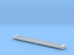 NCTC - Comeng T Car Dummy Chassis - N Scale in Smooth Fine Detail Plastic