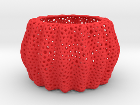 DRAW bowls - orchid pot container in Red Processed Versatile Plastic: Extra Small