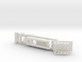Tip Top trailer and lift arm assembly. in White Natural Versatile Plastic