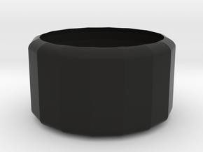 bowl in Black Premium Versatile Plastic