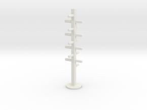 Hangers in White Natural Versatile Plastic: Medium
