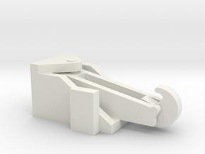 Tug Hook 1/50 fits Harbor Tug in White Natural Versatile Plastic
