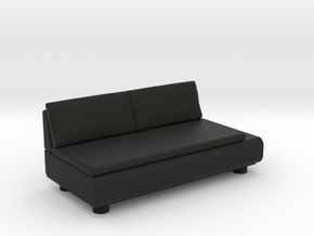Sofa 2018 model 9 in Black Natural Versatile Plastic
