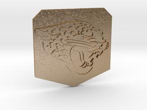 jaguars in Polished Gold Steel