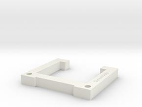 DynexHobby 2 Plane Balance Frame in White Natural Versatile Plastic