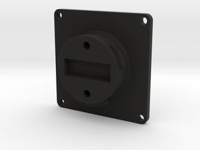 Dji Gimbal Plug/Third party sensor carrier in Black Natural Versatile Plastic