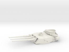 1/192 BB59 16 in (410 mm) 45 caliber Mark 6 gun 3 in White Natural Versatile Plastic