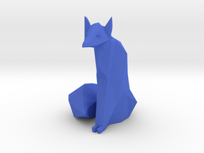 lowpolyfox in Blue Strong & Flexible Polished