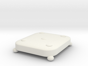 Chair mat in White Natural Versatile Plastic