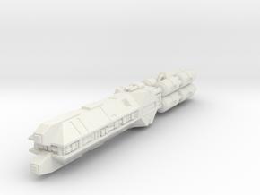 Vanguard 1 in White Natural Versatile Plastic