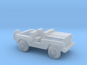 1/144 Scale MB Jeep  in Smooth Fine Detail Plastic