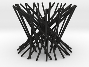 Egg cup _ The nest in Black Natural Versatile Plastic