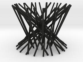Egg cup _ The nest in Black Natural Versatile Plastic
