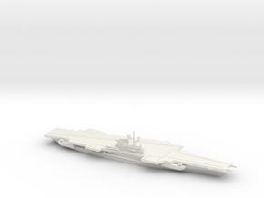 USS Coral Sea (CV-43), Final Layout, 1/1250 in White Natural Versatile Plastic