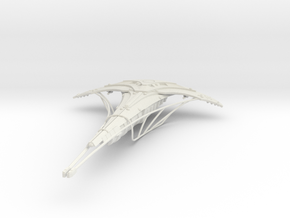 Seedship with Collectors  - 330mm hollow in White Natural Versatile Plastic