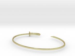 Zanpakuto bracelet in 18k Gold Plated Brass