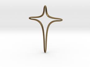 Exodus cross in Natural Bronze