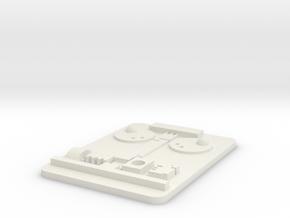 Return of The Jedi Princes Leia Rank Badge in White Natural Versatile Plastic