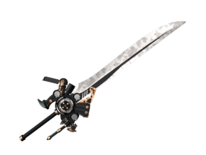 1:12 Miniature Engine Blade - Final Fantasy 15 in Smooth Fine Detail Plastic: 1:12