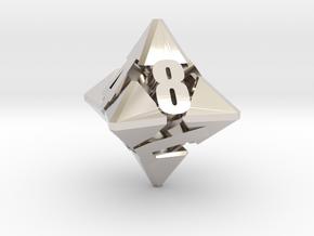 Hextrapyramidical d8 in Platinum