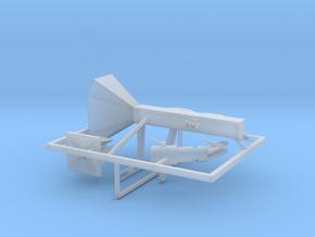 1 zu 35 Rocketlauncher Version 2 in Smooth Fine Detail Plastic