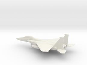 McDonnell Douglas F-15E Strike Eagle in White Natural Versatile Plastic: 1:72