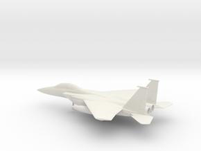 McDonnell Douglas F-15E Strike Eagle in White Natural Versatile Plastic: 1:100