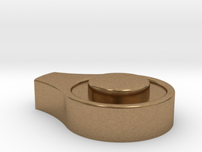 Wingleader Back Rest Hub Cup (replacement part) in Natural Brass