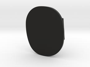 93-95 RX-7 passenger door panel cap in Black Natural Versatile Plastic