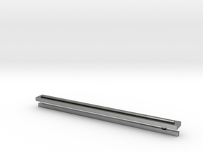 Silver Tie-Clip in Natural Silver: Extra Small