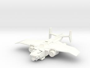 6mm Tempest MK2b in White Processed Versatile Plastic