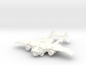 6mm Tornado MK X in White Processed Versatile Plastic