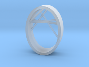 Agguvo Ring in Smooth Fine Detail Plastic