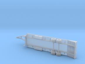25+5 Gooseneck Equipment Float - 3 Ramp Beavertail in Smooth Fine Detail Plastic