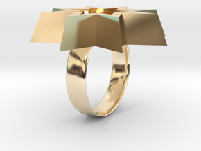 ring.stl in 14K Yellow Gold