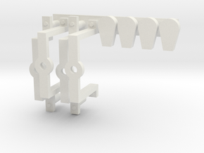 Bügel Reifendruckregelanlage RDRA Vredestein Felge in White Natural Versatile Plastic