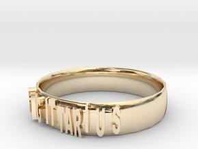SAGITTARIUS Bracelets in 14k Gold Plated Brass