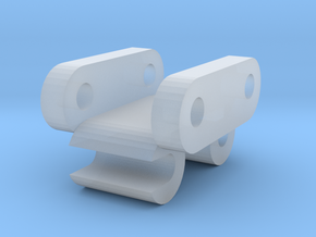1/50 Scale 20 Ton Quick Coupler in Smooth Fine Detail Plastic