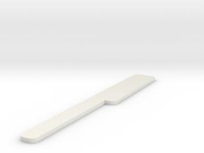 SMOO SMOOTH in White Natural Versatile Plastic